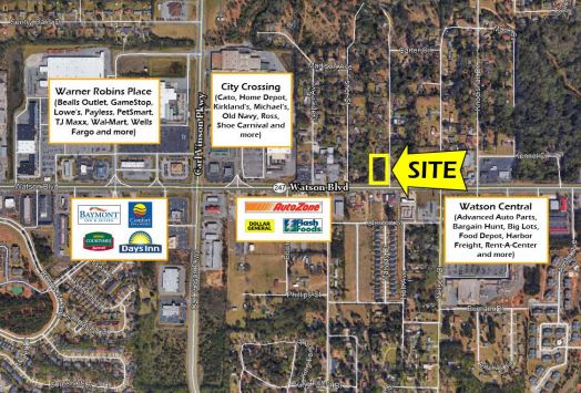 Warner Robins, GA Office and Retail Commercial Real Estate
