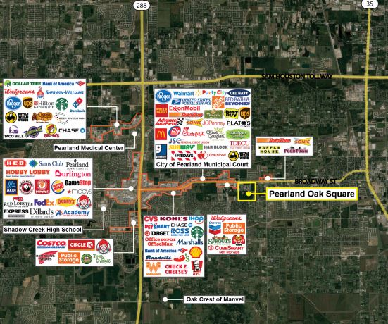 Brazoria County County, TX Commercial Real Estate