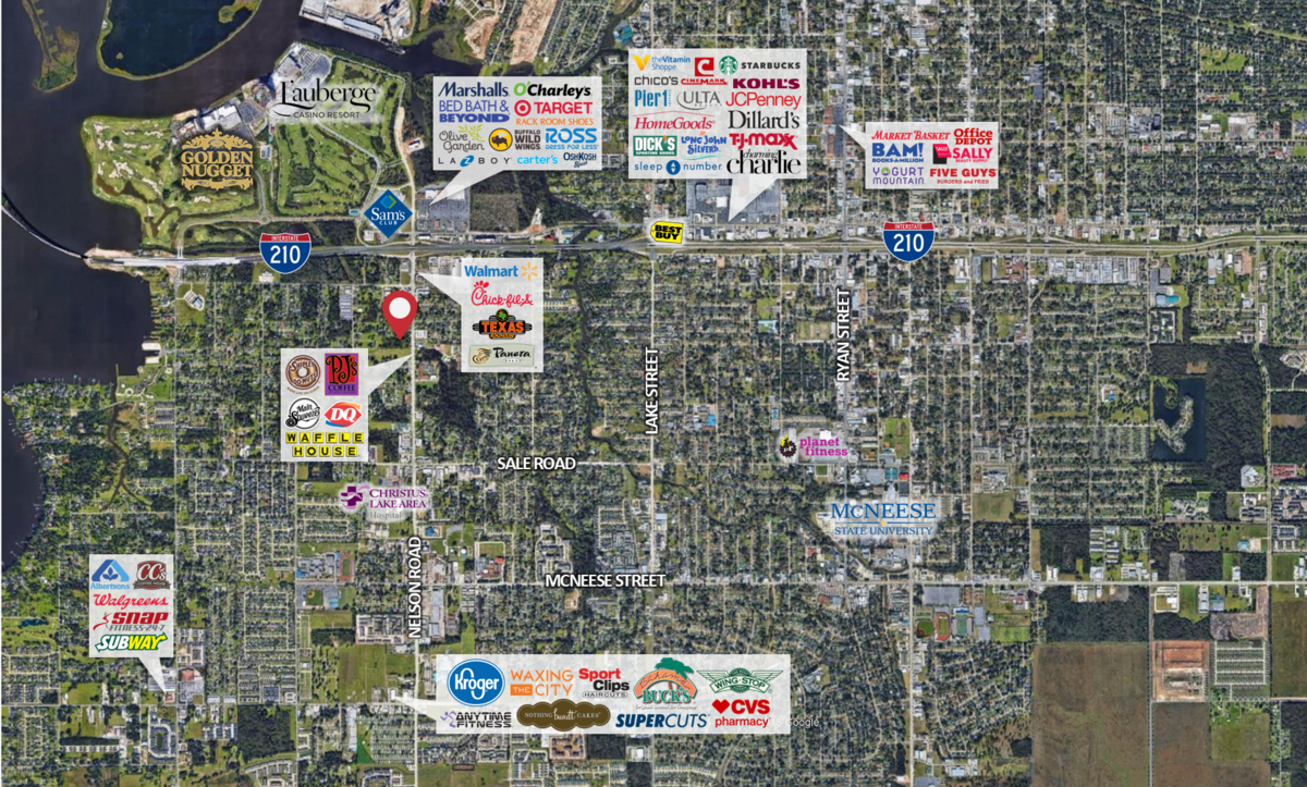Calcasieu Parish County, LA Commercial Real Estate