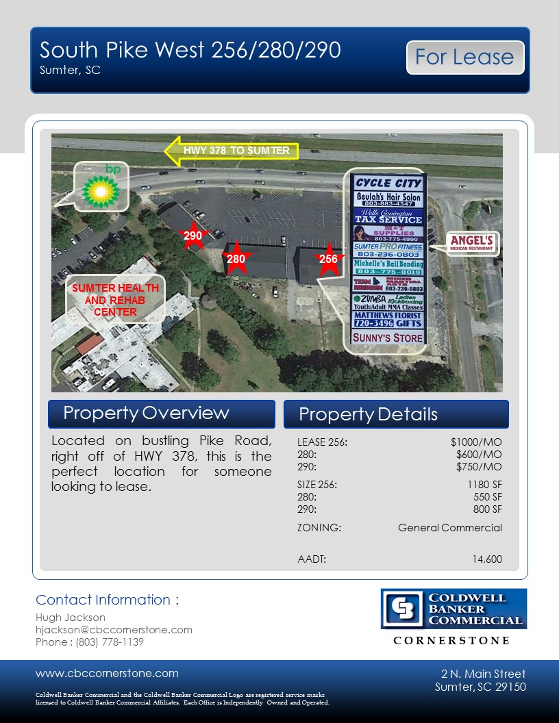 Sumter County, SC Commercial Real Estate - OfficeSpace com