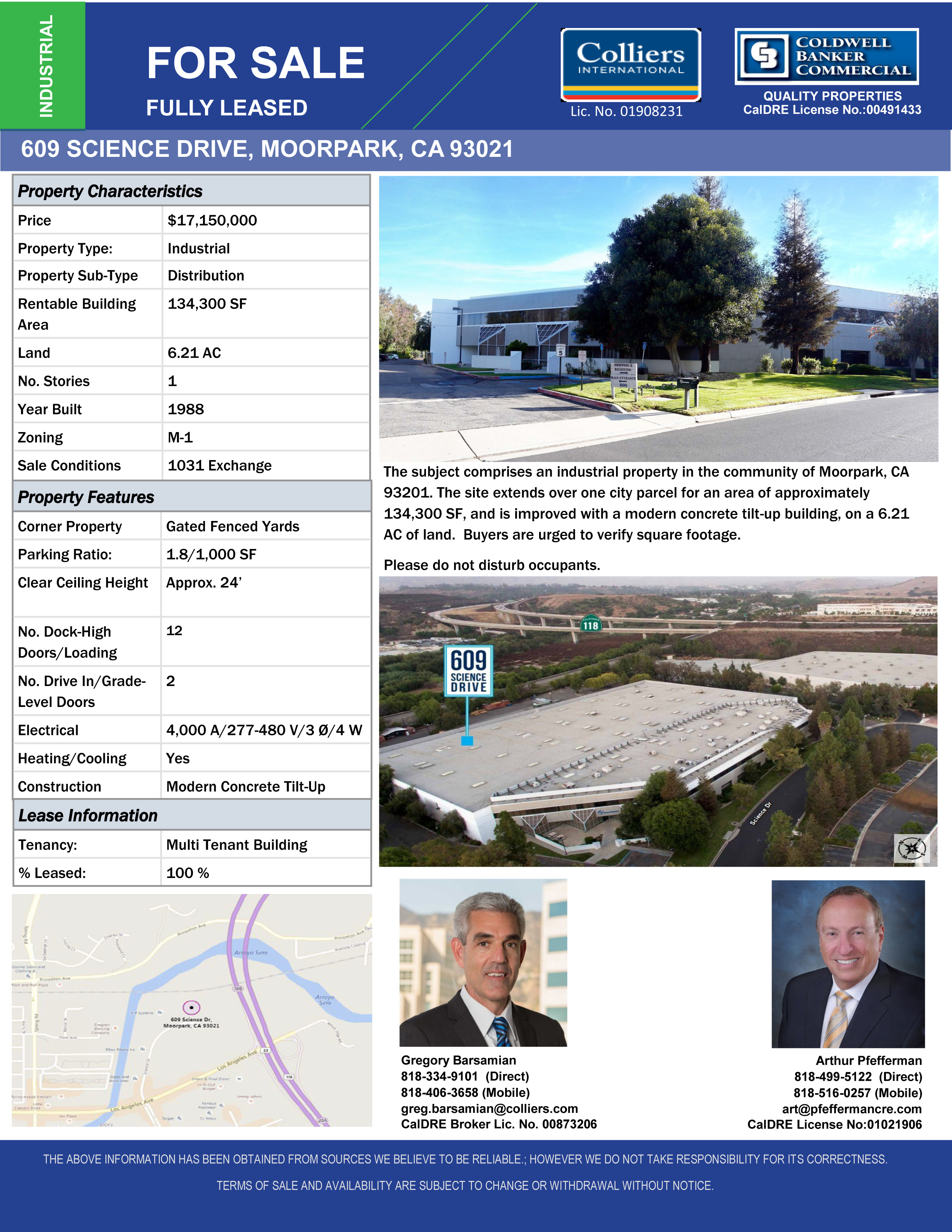 Greater Oxnard, CA Commercial Real Estate - OfficeSpace com